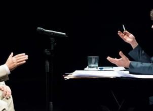 """""""Ruz-Bárcenas"""" Dir. Alberto San Juan 2014-15 (teatro)"""